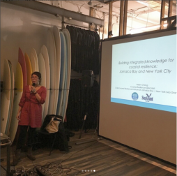 Presenting at a community meeting