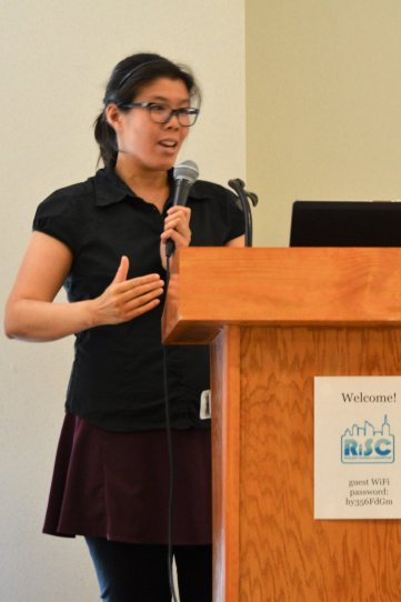 Presenting at a Youth Climate Summit