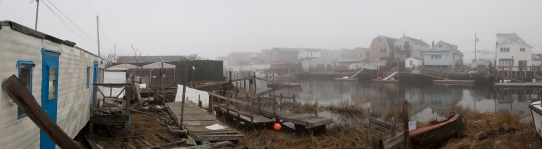 Coastal community in Queens, NY
